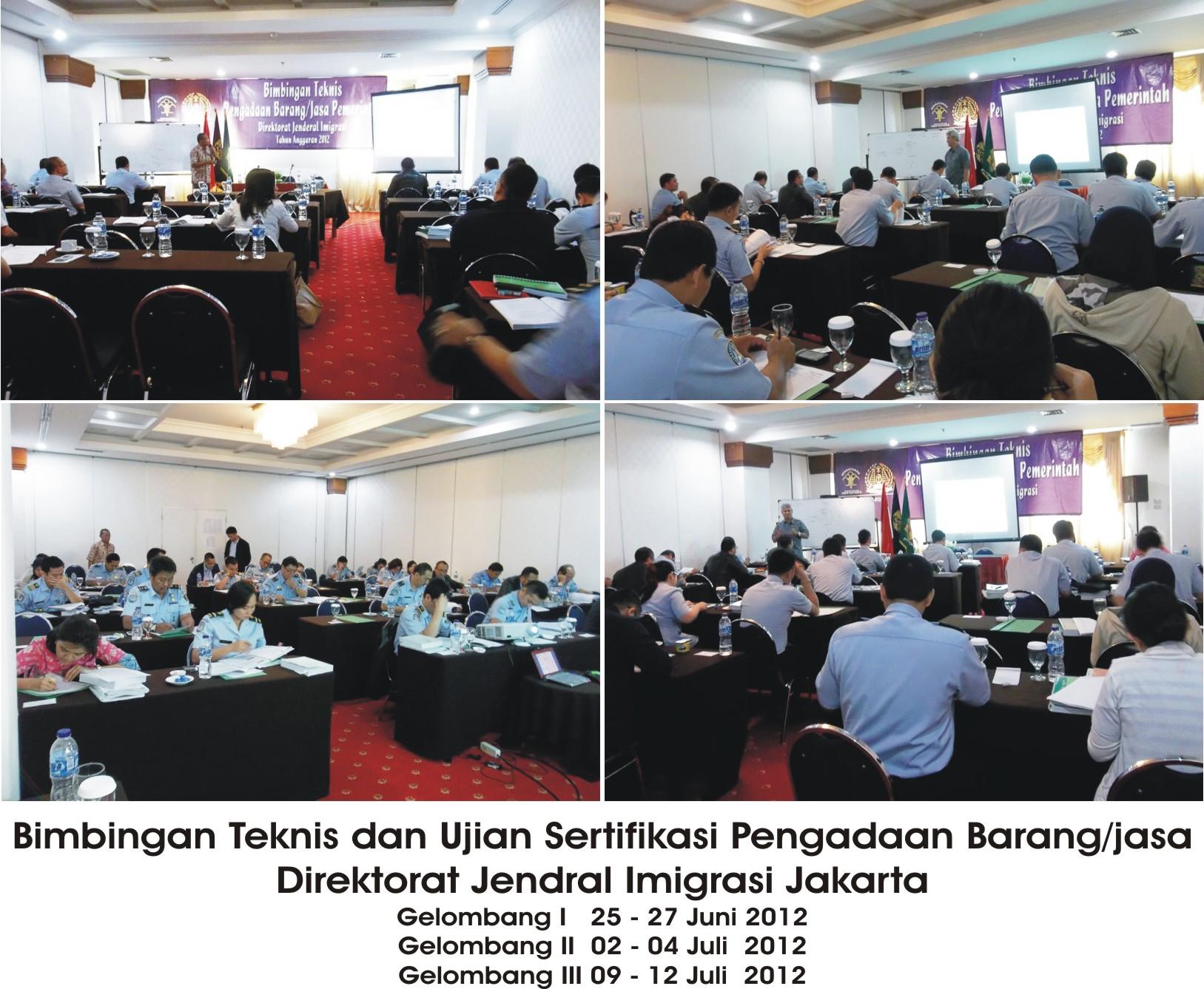 Bimtek Dirjen Imigrasi Jakarta