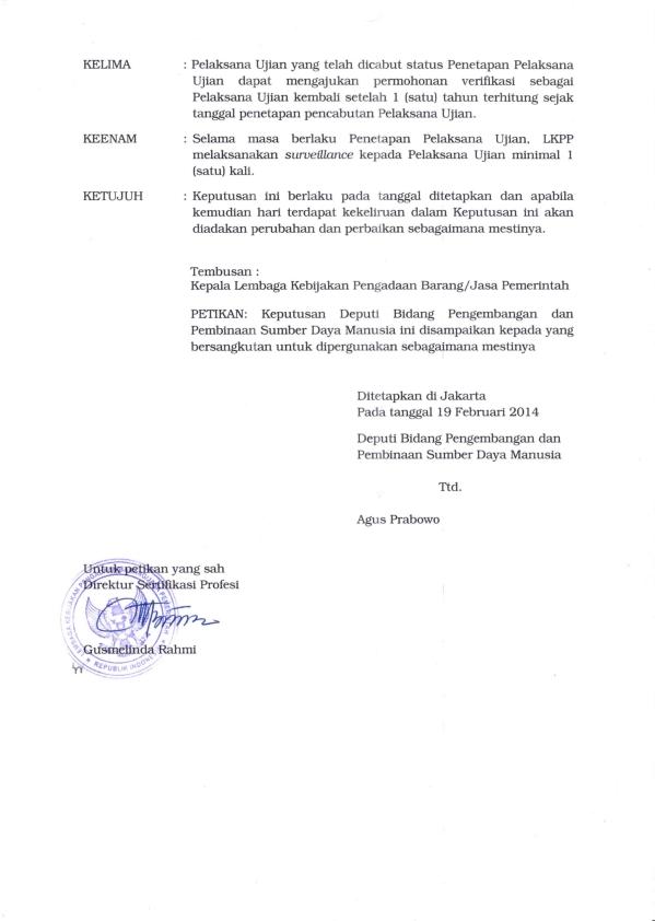 SK Pelaksana Ujian dari LKPP_002