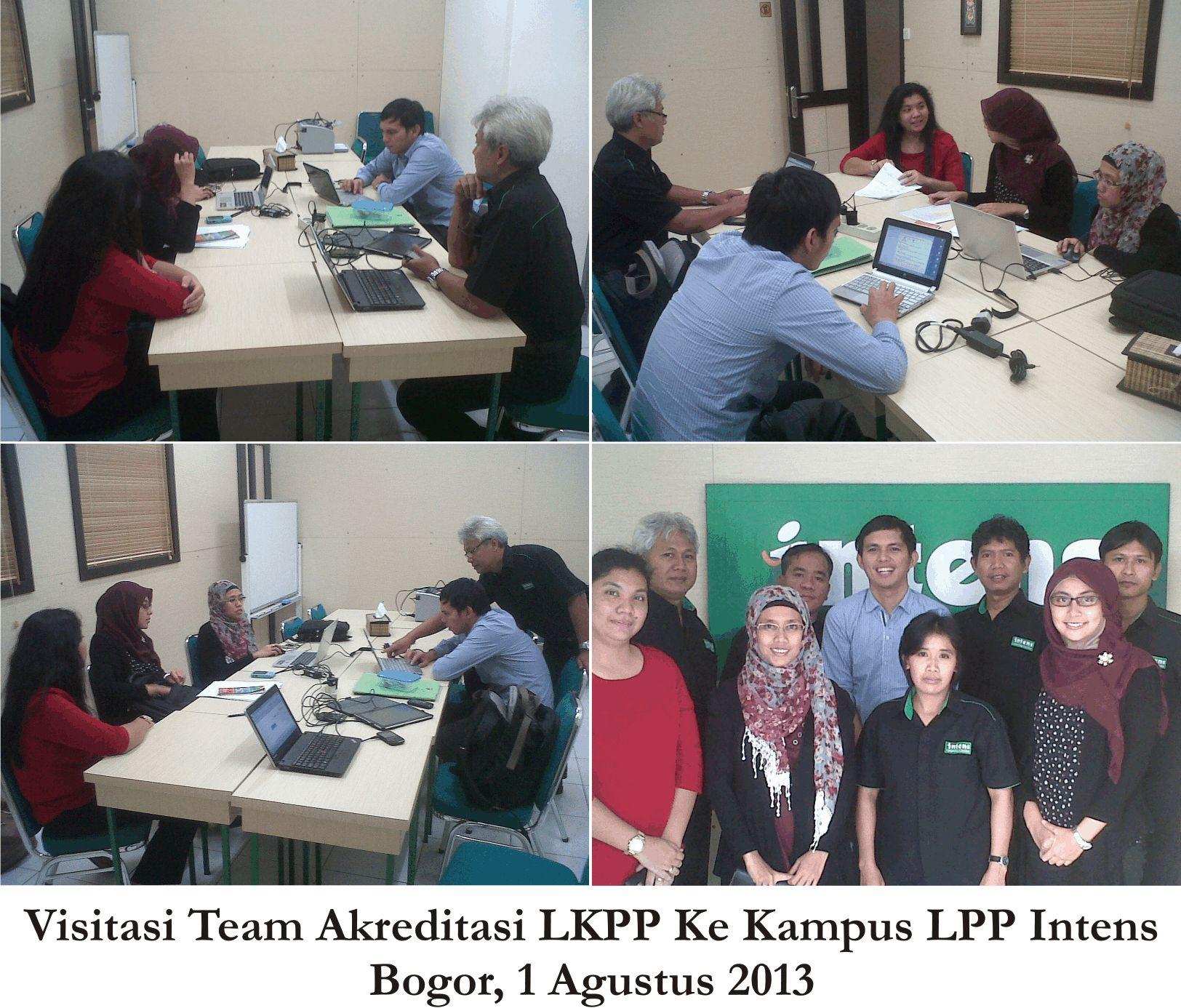 Visitasi Team Akreditasi LKPP